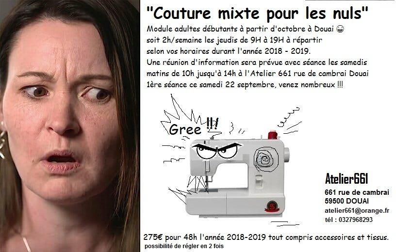 COUTURE POUR LES NULS